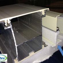 Thermal efficiency test ( Dry Ice VS. C-Thru Sunroom Wall System )