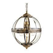 Mayfair Brass Pendant