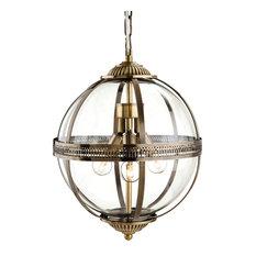 Firstlight Products - Mayfair Brass Pendant - Pendant Lighting
