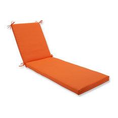 Sundeck Orange Oversized Chaise Cushion