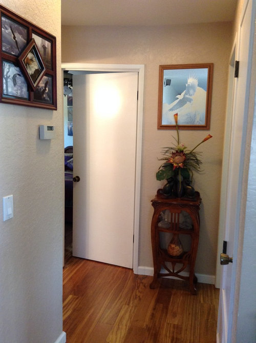Custom Sized Door For Furnace Closet Transforms The Space