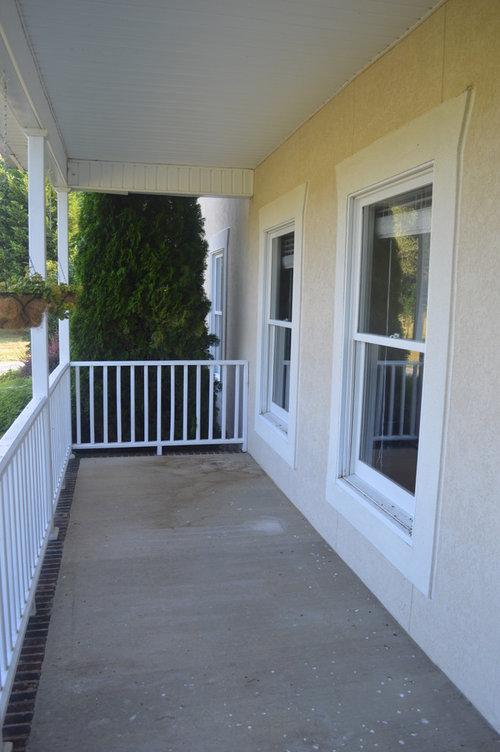What Color To Paint Front Porch Concrete