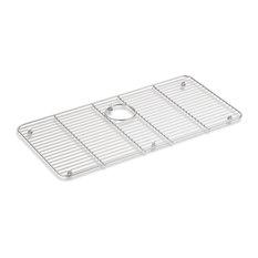 "Kohler Stainless Steel Sink Rack, Stainless Steel, 28.44""x14.19"""
