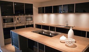 Custom Kitchen Glass Doors