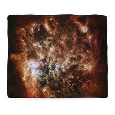 "Magellanic Cloud Blanket, 60""x80"""