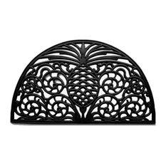 """Pineapple Grandeur Rubber Doormat 18""""x30"""""""
