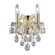 Maria Theresa Crystal Sconce, Premium Crystal