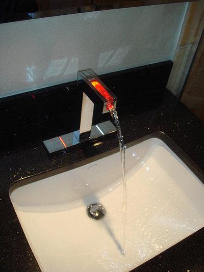 Modern Bathroom by CustomWorks Contracting, LLC