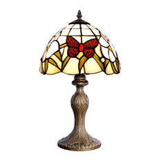 Red Butterfly Table Lamp