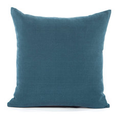 """Solid Navy Blue Accent, Throw Pillow Cover, 20""""x20"""""""