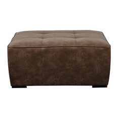 Home Fare Tufted Accent Cocktail Ottoman