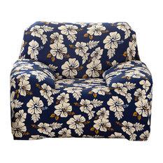 Blancho Bedding   Stretch Soft Sofa Slipcover, Single Seat Cushion, Flowers    Sofas