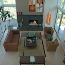 Contemporary  by Kashmere Interiors and Draperies