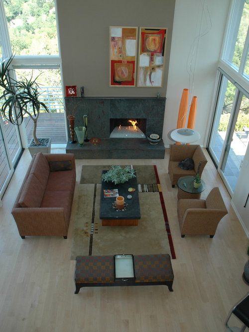 Asymmetrical Fireplace Home Design Ideas Pictures