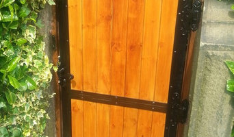 Wood Infill / Steel Frame Gate