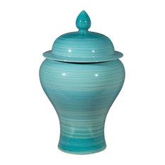 Aralia Jar, Blue