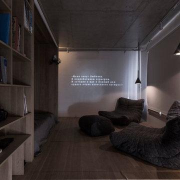 Квартира-студия в Горках (Бюро Ruetemple)