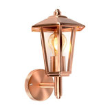 Outdoor Wall Lamp New Port Up Copper IP44