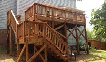Full Deck and Yard Fence