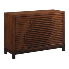 Emma Mason Signature Oak Haven Hall Chest In Dark Walnut