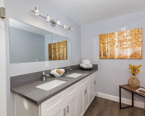 Takbelysning Dusch : Foton och badrumsinspiration för badrum med dusch mörkt trägolv
