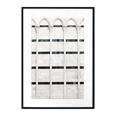 """""""Marble Architecture, Arches"""" Photographic Print Framed, 70x50 cm"""