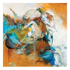 """Turtledove 1""  - Large Artwork"