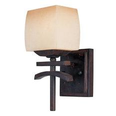 One Light Wilshire Gl Roasted Chestnut Wall