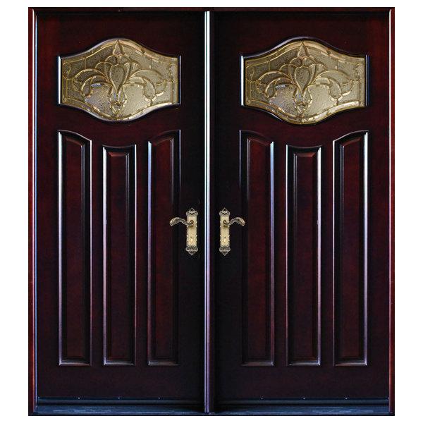 Exterior Front Entry Double Wood Door MP-DM80 30