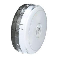 LPL592 Micro Puck LED Lights, Battery Powered 45 Lumens Warm White Light 3000k