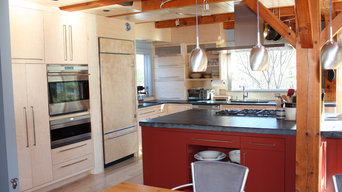 Modern Timber Frame Kitchen