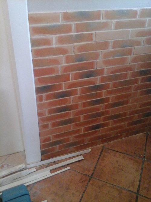 Peindre des briques de parement