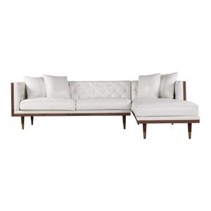 Miraculous Kardiel Woodrow Mid Century Modern Box Right Facing Cjindustries Chair Design For Home Cjindustriesco