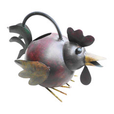 Iron Rooster Watering Can