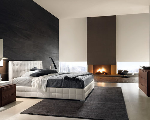 Intimate bedroom design ideas renovations photos for Idee de tapisserie pour chambre adulte