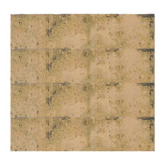 Grunge Rectangular Tiles, Doratto, Set of 20