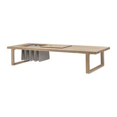 Pulse Daybed In Natural Oak, Use Inside Or Outside