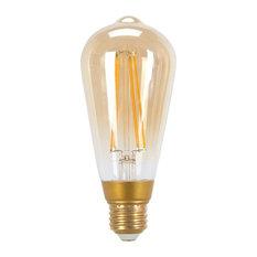 60W Equivalent Soft White (2200K) Vintage Edison Dimmable LED Light Bulb