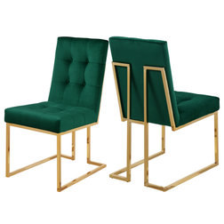Contemporary Dining Chairs by Meridian Furniture