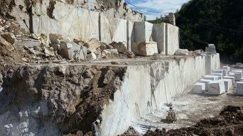 Quarry of Cote D'Azur Marble