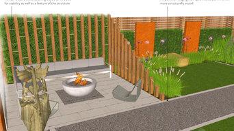 Contemporary Garden, Hove, Sussex