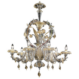 Prospero Murano Glass Chandelier
