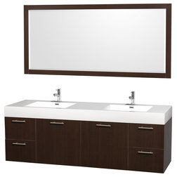 Cool Contemporary Bathroom Vanities And Sink Consoles by Modern Bathroom HMS Stores LLC