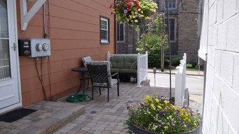 Urban patio renovation