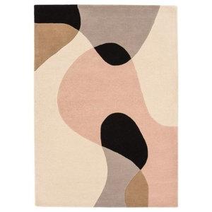 Matrix Arc Pastel Rectangular Funky Rug, 120x170 cm