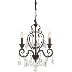 Elegant Traditional Chandeliers by Quoizel