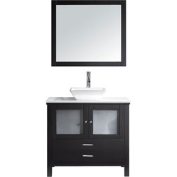 Ideal Contemporary Bathroom Vanities And Sink Consoles by Virtu Usa Inc