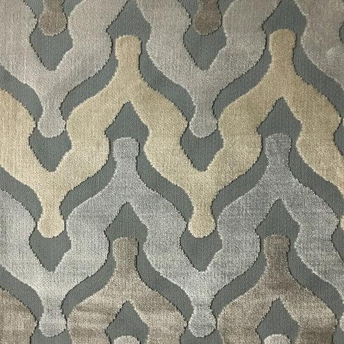 Cut velvet upholstery fabric by the yard - Velvet great option upholstery ...