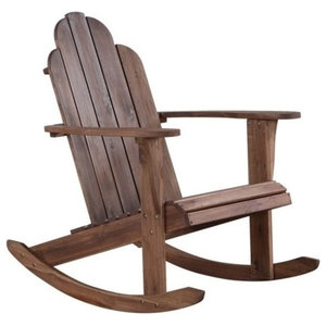 Outstanding Safavieh Clayton Outdoor Rocking Chair Farmhouse Outdoor Ocoug Best Dining Table And Chair Ideas Images Ocougorg