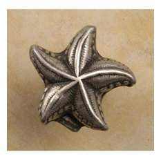 Starfish Knobs, Set of 10, Verdigris
